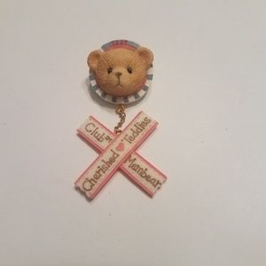 Jewelry - Cherised Teddies Club Membear Pin Vintage 1996